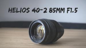 オールドレンズといえばヘリオス!「Helios 40-2 85mm F1.5」作例&レビュー!