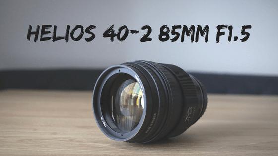Helios 40-2 85mm F1.5 レビュー