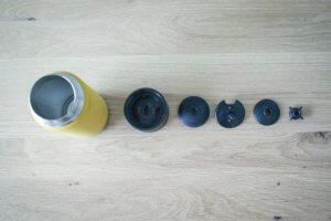 クリーンカンティーンのカフェキャップの洗い方を写真多めで解説。
