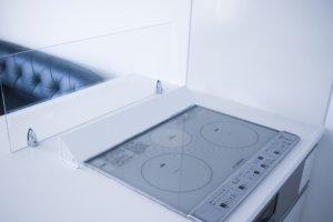 キッチン掃除が超簡単に!油で汚れる前にIHグリルの排気口カバーを設置しよう!