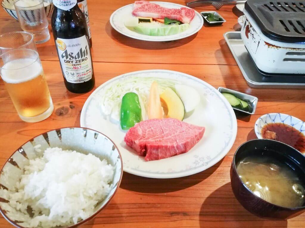 池田ファーム ヒレステーキ定食