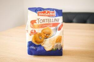 カルディでみつけたチーズ入りパスタ。トルテリーニが美味しい!