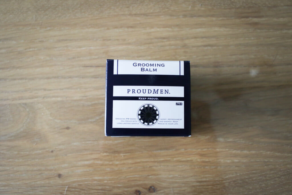 プラウドメン グルーミングバーム 箱