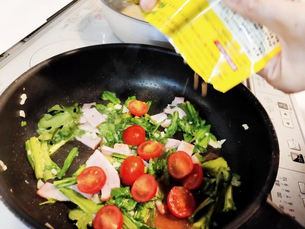 カルディ 塩レモンパスタソース アレンジ レシピ
